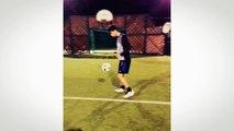 L'exceptionnelle série de jongles de Enzo Zidane