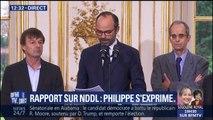 """NDDL : Philippe évoque une nouvelle hypothèse qui serait de """"procéder à un réaménagement complet de l'aéroport de Nantes Atlantique"""""""