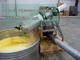 Séparateur liquide solide pour mout de mais