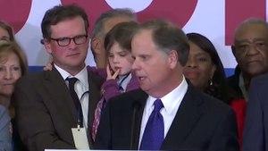 Doug Jones Thanks Alabama For Showing Unity