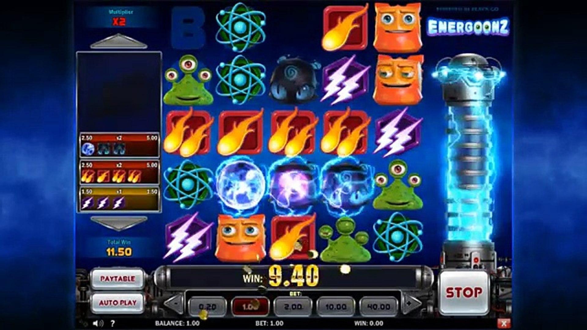 Energoonz slot machine casino gratis online game