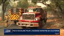 États-Unis: pas d'accalmie pour l'incendie monstre en Californie