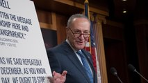 Schumer Demands Tax Bill be Put on Hold