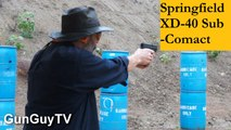 Springfield Armory XD Sub-Compact 40 Review