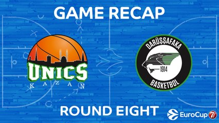7DAYS EuroCup Highlights Regular Season, Round 8: UNICS 75-79 Darussafaka