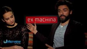 Oscar Isaac & Alicia Vikander On 'Ex Machina'