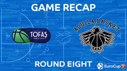 7DAYS EuroCup Highlights Regular Season, Round 8: Tofas 79-91 Trento