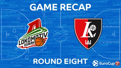 7DAYS EuroCup Highlights Regular Season, Round 8: Lokomotiv 77-68 Rytas