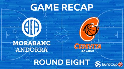 7Days EuroCup Highlights Regular Season, Round 8: Andorra 78-71 Cedevita