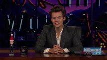 Harry Styles Steps In for James Corden on the 'Late Late Show'   Billboard News