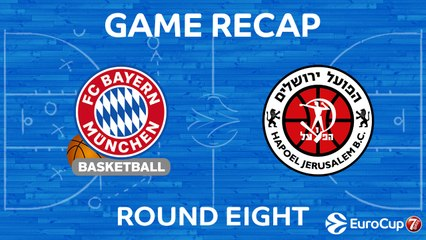 7DAYS EuroCup Highlights Regular Season, Round 8: Bayern 111-85 Jerusalem
