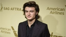 Joe Keery Vows To Shave Head If Co-Star Wins Golden Globe