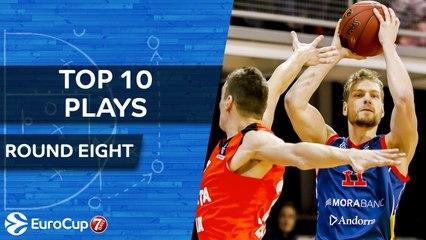 Top 10 Plays - 7DAYS EuroCup Regular Season Round 8