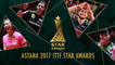 Astana 2017 ITTF Star Awards