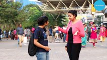 Girl Saying Aapki Pant Fatt Gayi Hai - Prank In India - Oye Its Prank