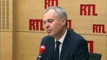 """François de Rugy réagit à la députée qui se plaint de manger """"pas mal de pâtes"""""""