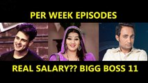 Bigg Boss 13 Contestants Salary Per Week Video Dailymotion