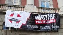 Manifestation des barreaux savoyards contre la menace de la fermeture de la Cour d'Appel de Chambéry
