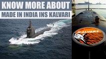 PM Modi commissioned Scorpene-class submarine INS Kalvari to Indian Navy | Oneindia News