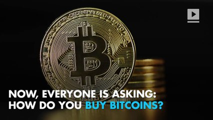 How do you buy bitcoins?