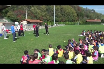 Laurafoot / CS.Pont du Château le foot à l'école !!!