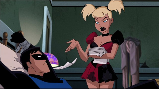 Batman And Harley Quinn (2-8) Nightwing and Harley Bedscene