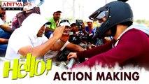 HELLO! Movie Action Making | Akhil Akkineni, Kalyani Priyadarshan | Vikram K Kumar | Nagarjuna