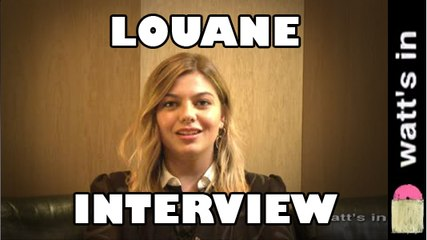 Louane : On était beau Interview Exclu