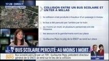 Bus scolaire percuté par un TER : au moins 2 morts et plusieurs blessés dans l'accident