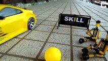 Fast & Furious miniature : voiture télécommandée et balle de ping pong !