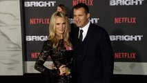 """Molly Sims and Scott Stuber """"Bright"""" Los Angeles Premiere"""