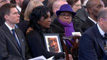 Memorial service for victims of Grenfell inferno
