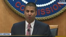 FCC Chairman Ajit Pai defends repeal of net neutrality rules on day of crucial vote