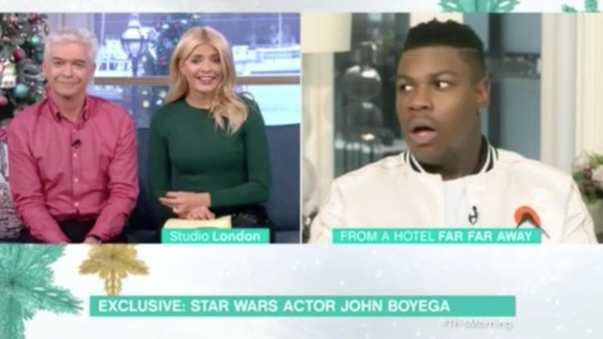 A huge The Last Jedi spoiler dropped on TV ! John Boyega is shocked !