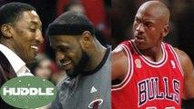 Scottie Pippen Says LeBron James Has PASSED Michael Jordan -The Huddle