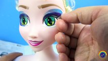 Frozen Elsa MONSTER HIGH GOULS Costume Doll Makeover Transformation Makeup Spider Web Eyes-GZ0OH0HYIKw