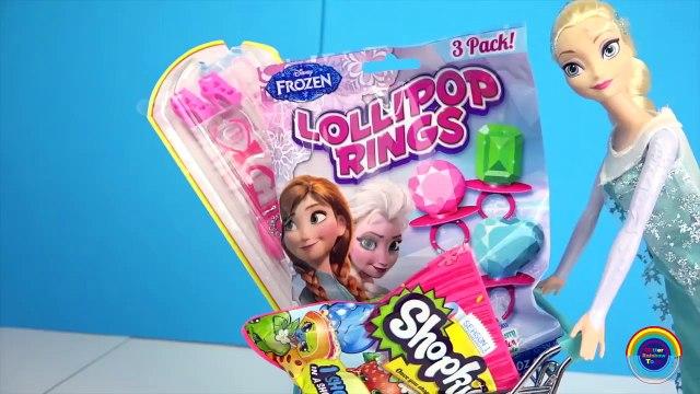 Frozen Elsa SHOPPING HAUL ★ Barbie SHOE SHOPPING SURPRISE ★dress up girls games-9ezuWAiXgac