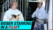 Justin Bieber Acting In A Film? Attends Acting Class in Hollywood | Good Night JB!