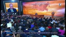 Présidentielle 2018 : le show de Poutine devant les médias