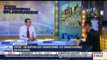 Anthony Morel: Prynt, un boîtier qui transforme les smartphones en Polaroïd - 15/12