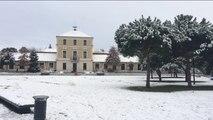 La neige est tombée à Tassin !