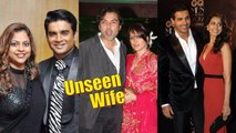 Unseen Wives of Bollywood Actors Bollywood Gossip