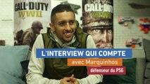 Foot - Entretien : Marquinhos «Neymar, bon même sur les jeux vidéo»