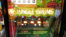 Williams Jungle Drums arcade shooting game.