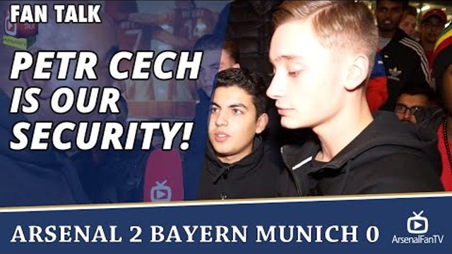 Petr Cech Is Our Security! | Arsenal 2 Bayern Munich 0