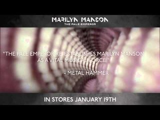 Marilyn Manson - The Pale Emperor - Out Now