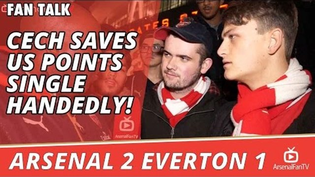 Petr Cech Saves Us Points Single Handedly! | Arsenal 2 Everton 1
