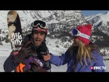Freeride World Tour interview - Courmayeur 2013 highlights - rider Adrien Coirier ski