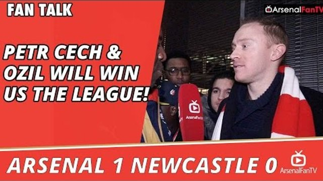 Petr Cech & Ozil Will Win Us The League! | Arsenal 1 Newcastle 0