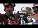 FWT Verbier Extreme 2013: snowboarder Douds Charlet interview